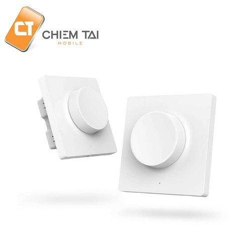 Công tắc âm tường thông minh Smart Dimmer Switch Xiaomi Yeelight - 11402909 , 19193351 , 15_19193351 , 450000 , Cong-tac-am-tuong-thong-minh-Smart-Dimmer-Switch-Xiaomi-Yeelight-15_19193351 , sendo.vn , Công tắc âm tường thông minh Smart Dimmer Switch Xiaomi Yeelight