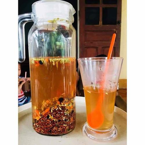 Combo 2 kg trà gạo lứt hoa nhài giảm cân hàng hand made