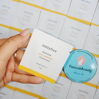 Sample kem Chống Nắng In nisfree Perfect UV Protaction Cream Anti Pollution SPF50+ PA++++ - Sample-innisfree-anti-polution 2