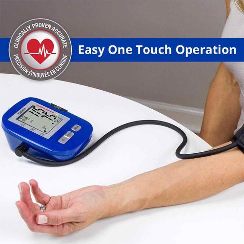 CHÍNH HÃNG Máy đo huyết áp bắp tay HoMedics BPA-0200 công nghệ đo Smart Measure Technology nhập khẩu USA - 11819357 , 19194729 , 15_19194729 , 950000 , CHINH-HANG-May-do-huyet-ap-bap-tay-HoMedics-BPA-0200-cong-nghe-do-Smart-Measure-Technology-nhap-khau-USA-15_19194729 , sendo.vn , CHÍNH HÃNG Máy đo huyết áp bắp tay HoMedics BPA-0200 công nghệ đo Smart Mea