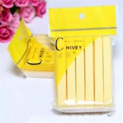 [CHÍNH HÃNG] Bông nở rửa mặt Chivey hàng loại 1 gói 12 miếng, Bông mút rửa mặt