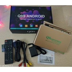 Android Tivi Box Q9s - 02 Anten  1GB RAM 8GB ROM
