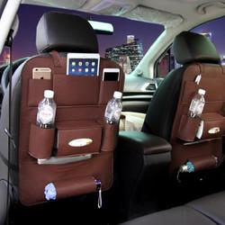 Túi treo đồ sau ghế ô tô bằng da sang trọng - free ship 30k