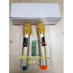 Micro + bo mic cho tất cả loa kéo