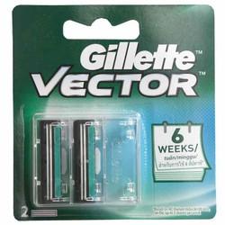 lưỡi dao cạo râu Gillette vĩ 2 lưỡi