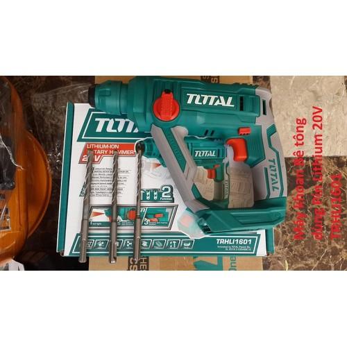 Máy khoan bê tông dùng pin Lithium total TRHLI1601 - 10591053 , 19213483 , 15_19213483 , 1060000 , May-khoan-be-tong-dung-pin-Lithium-total-TRHLI1601-15_19213483 , sendo.vn , Máy khoan bê tông dùng pin Lithium total TRHLI1601