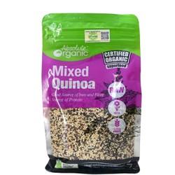 Hạt Diêm Mạch Hữu Cơ Absolute Organic Mix 3 Màu Quinoa Mix Túi 400gram