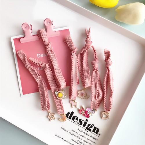 Dây cột tóc ren màu hồng - 11826568 , 19204694 , 15_19204694 , 11000 , Day-cot-toc-ren-mau-hong-15_19204694 , sendo.vn , Dây cột tóc ren màu hồng