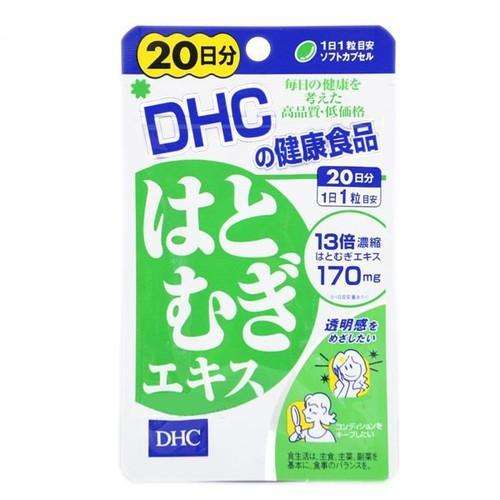 Viên uống trắng da DHC Coix lúa mạch 20 ngày
