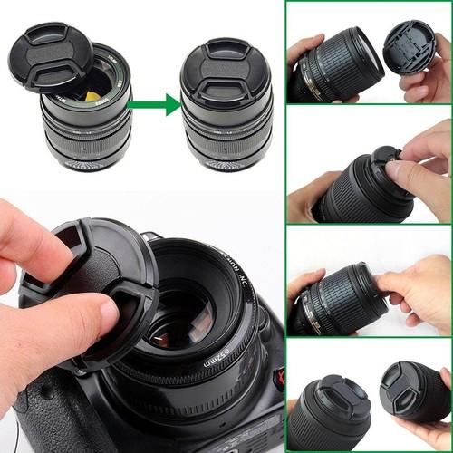 Nắp lens không tên, Cáp lens không tên, dùng cho ống kính các hãng Phi 82