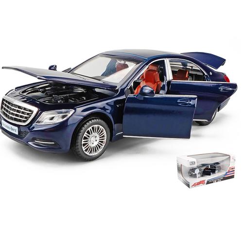 Ô tô Mercedes S600 Maybach Xe mô hình tỷ lệ 1:32 xe bằng sắt mở cửa có âm thanh và đèn MÀU TÍM THAN - 11826028 , 19203984 , 15_19203984 , 410000 , O-to-Mercedes-S600-Maybach-Xe-mo-hinh-ty-le-132-xe-bang-sat-mo-cua-co-am-thanh-va-den-MAU-TIM-THAN-15_19203984 , sendo.vn , Ô tô Mercedes S600 Maybach Xe mô hình tỷ lệ 1:32 xe bằng sắt mở cửa có âm thanh v