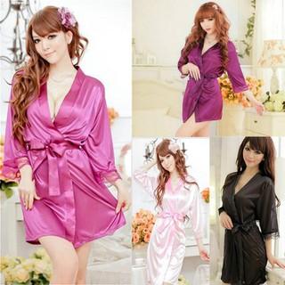 áo choàng ngủ gợi cảm viền ren hàng cao cấp SX tại Trung quốc shop_moimoi - ACH004M2 thumbnail