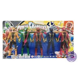Vỉ đồ chơi 5 anh em siêu nhân hải tặc