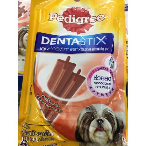Bánh xương cho chó nhỏ Pedigree Dentastix vị bò xông khói 75g - 10634476 , 19225572 , 15_19225572 , 59000 , Banh-xuong-cho-cho-nho-Pedigree-Dentastix-vi-bo-xong-khoi-75g-15_19225572 , sendo.vn , Bánh xương cho chó nhỏ Pedigree Dentastix vị bò xông khói 75g