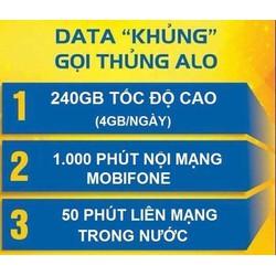 Bán Sim 4G Mobi C90N 90k tháng 120Gb 1000 phút nội mạng 50 phút ngoại mạng. Có sẵn 2 tháng đầu giá 150k