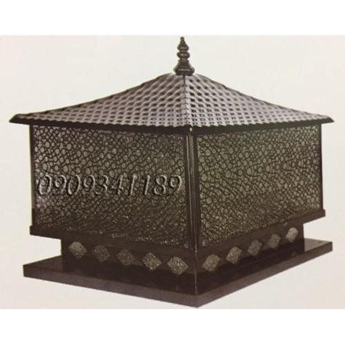 Đèn trụ cổng  - Đèn trụ bờ bao - Đèn trụ hàng rào kích thước 40cm HABALI Tặng kèm bóng LED