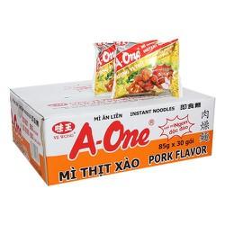 Mì A-One thịt xào thùng 30 gói