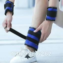 Tạ đeo chân - tạ đeo chân - tạ đeo chân 6 kg cát sắt siêu êm - TCCS01