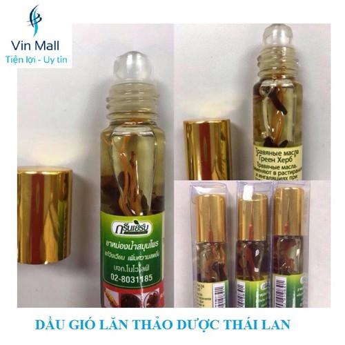 Dầu Gió Lăn Thảo Dược Thái Lan Green Herb