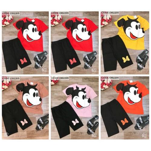 Set bộ thun ngố áo tay lỡ in hình Mickey quần lỡ ôm - 11828794 , 19228730 , 15_19228730 , 285000 , Set-bo-thun-ngo-ao-tay-lo-in-hinh-Mickey-quan-lo-om-15_19228730 , sendo.vn , Set bộ thun ngố áo tay lỡ in hình Mickey quần lỡ ôm