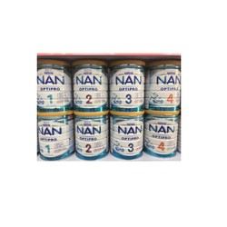 Sữa Nan Nga số 4 3 2 1 800g - Mẫu mới