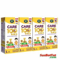 Thùng Sữa Nước Care 100 Gold 110ml - SNC100110
