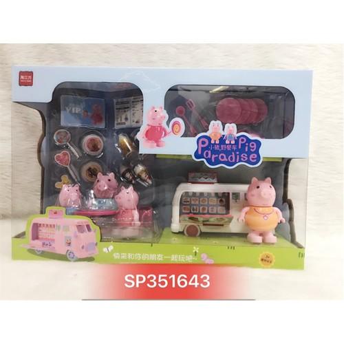 Hộp xe lưu động bán bánh kem heo peppa , 995