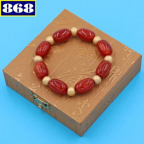 Vòng tay thạch anh đỏ hình bầu 14 ly VTAOBNHVT1 hộp gỗ - 11403446 , 19220807 , 15_19220807 , 220000 , Vong-tay-thach-anh-do-hinh-bau-14-ly-VTAOBNHVT1-hop-go-15_19220807 , sendo.vn , Vòng tay thạch anh đỏ hình bầu 14 ly VTAOBNHVT1 hộp gỗ