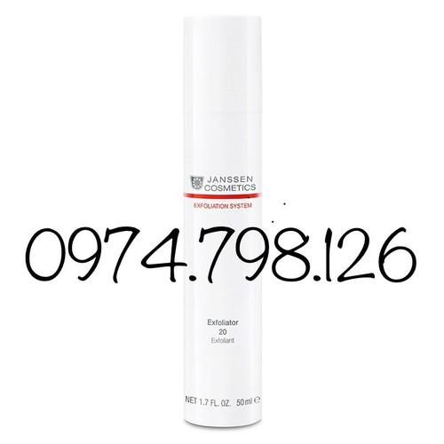 🌺tẩy tế bào chết chuyên sâu 20 - janssen cosmetics exfoliator 20 50ml