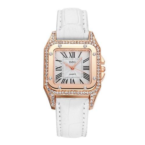 Đồng hồ nữ dây da cao cấp đính đá