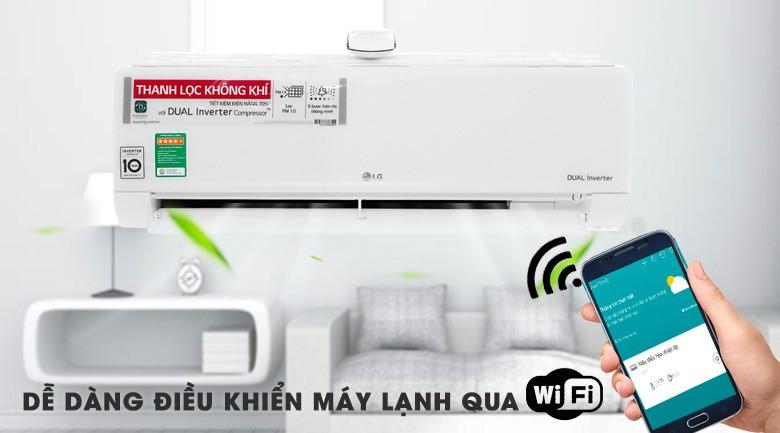 Bộ tạo phát Ion - Máy lạnh LG Wifi Inverter 1 HP V10APF