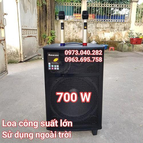 Loa kéo di động tặng míc hàng chính hãng -loa karaoke công suất lớn -loa gỗ karaoke công suất lớn j1505