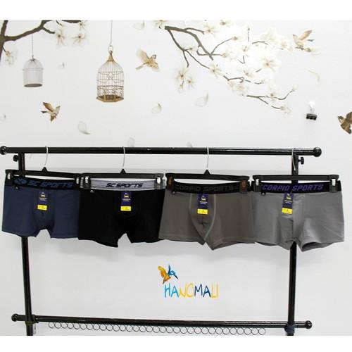 Combo 4 quần lót boxer nam thun lạnh - bộ 5 cái