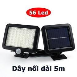 Đèn năng lượng mặt trời 56 LED siêu sáng dây dài 5m