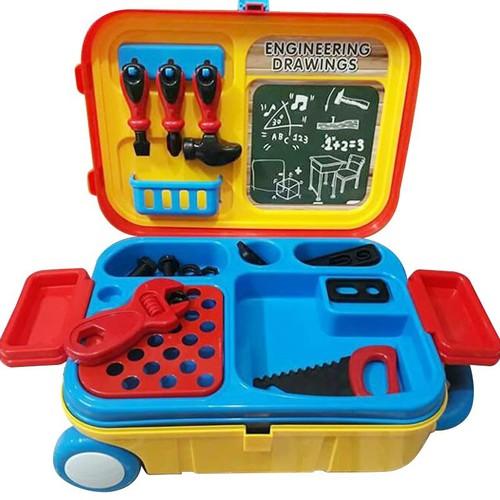Bộ dụng cụ kỹ sư kèm vali kéo cho bé
