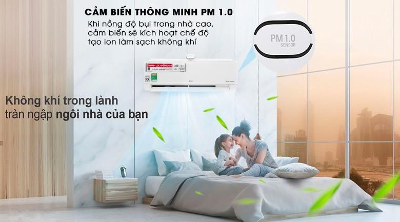 Máy lạnh thông minh - Máy lạnh LG Wifi Inverter 1 HP V10APF