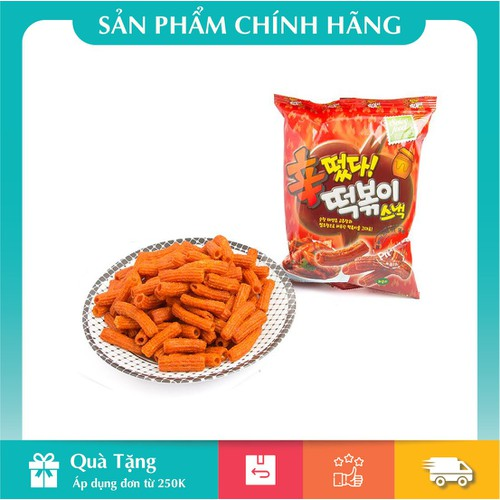Snack quẩy toppoki cay ngọt 110g