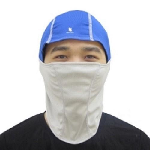 Khẩu trang ninja chống nắng zigzag xanh xám mas00501