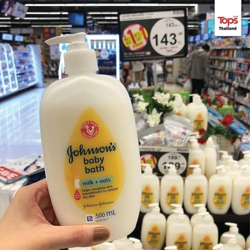 Sữa Tắm Dưỡng Ẩm Johnson