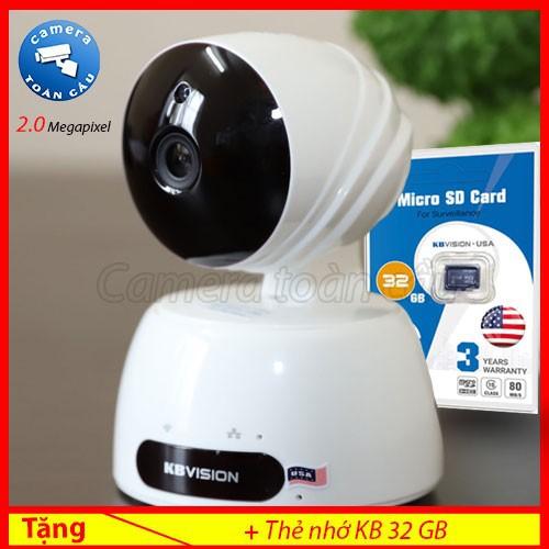 Camera IP KBwin KW-H2 1080P + Tặng thẻ nhớ 32GB