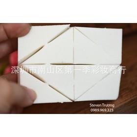 Bộ 8 bông phấn tam giác siêu mịn - Bông phấn tam giác 8