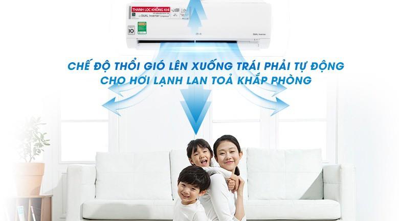 Chế độ làm lạnh nhanh Jet Mode - Máy lạnh LG Wifi Inverter 1 HP V10APF