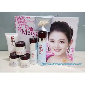 Bộ mỹ phẩm Meiya trắng 6in1, trị nám, tàn nhang kết hợp trắng da Nhật bản - Meiya trắng 6in1