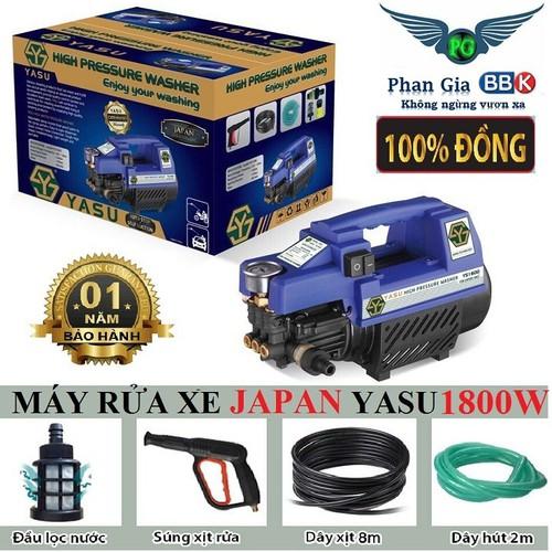 Máy rửa xe japan technology yasu 1800w - 17221053 , 19261056 , 15_19261056 , 1439000 , May-rua-xe-japan-technology-yasu-1800w-15_19261056 , sendo.vn , Máy rửa xe japan technology yasu 1800w