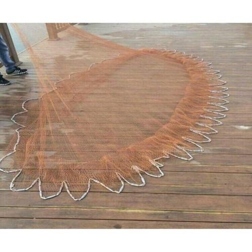 Chài dù chì đúc bung rộng 8m, nặng 5kg bắt cá siêu nhạy