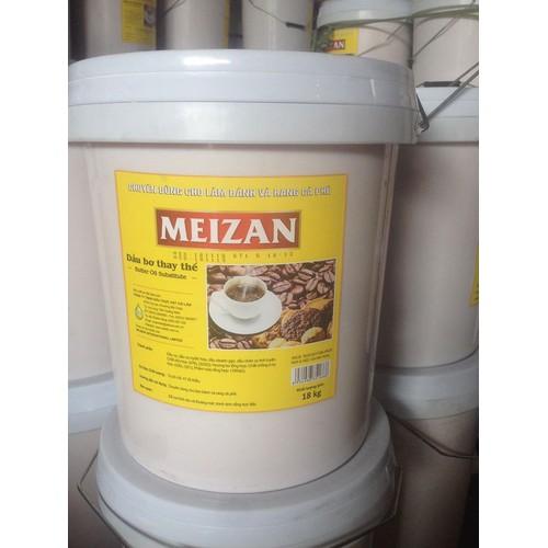 Bơ thực vật meizan 18 kg