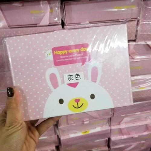 Hộp nơ tóc hình thỏ cho bé korea style