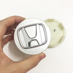 Logo chụp mâm bánh xe ô tô Honda đường kính 58mm - HDA58