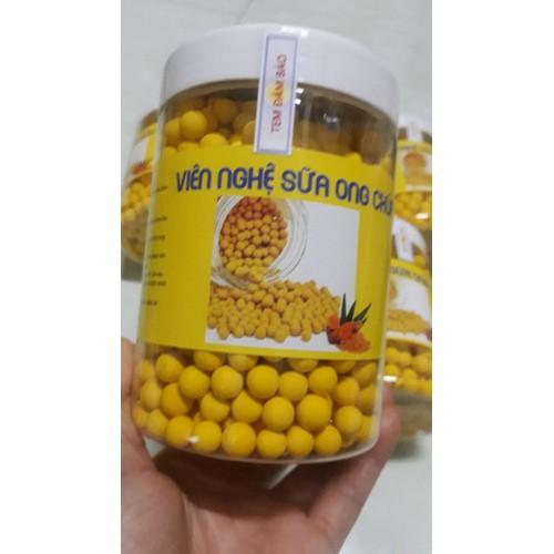 SIÊU SALE 1  hộp 500 g viên nghệ sữa ong chúa