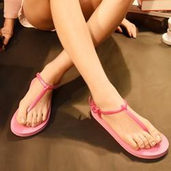 Giày sandal siêu nhẹ dể phối đồ,du lịch xa bao nhiêu cũng ko sợ đau chân-413